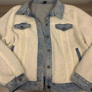 Wild fable Sherpa/jean jacket